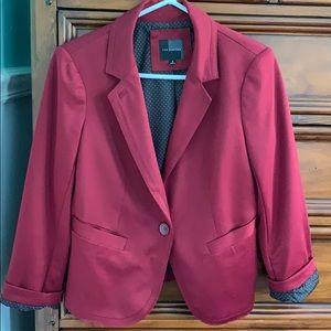 The Limited burgundy jacket/suit coat